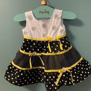 Daisy summer dress size 12 month